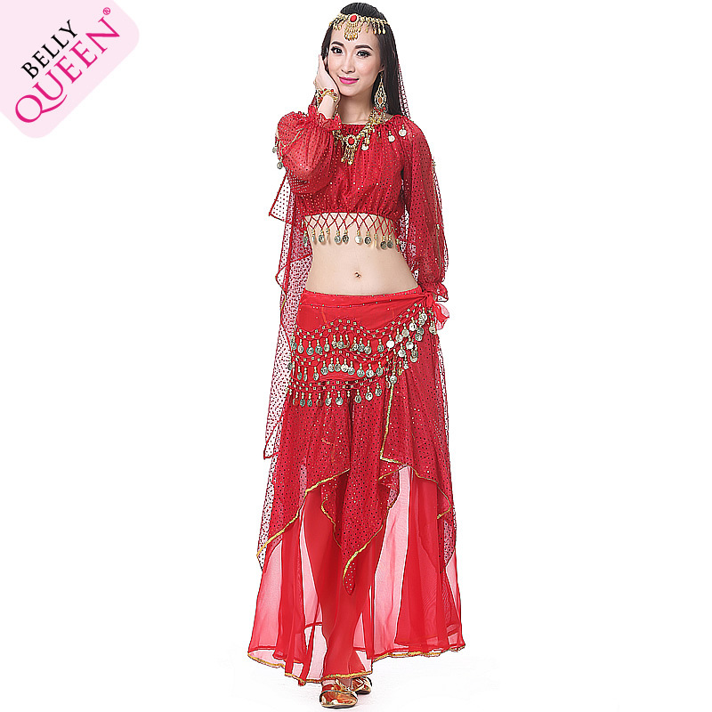 Dancewear Polyester Cheap Belly Dance Costume For Ladies