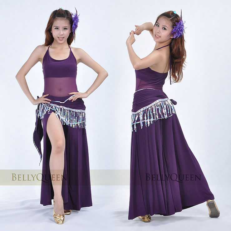 Dancewear Polyester Belly Dance Costumes