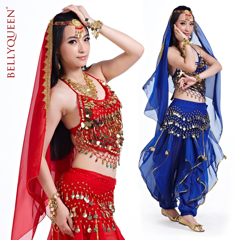 Dancewear With Crystal Performance Belly Dance Wear