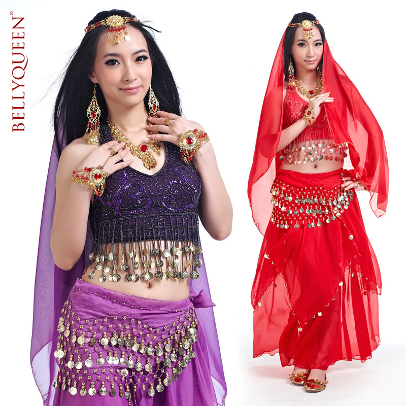 Dancewear With Beading Performance Belly Dance Wear