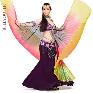 Dancewear Polyester Belly Dance Isis Wing 9 Colors