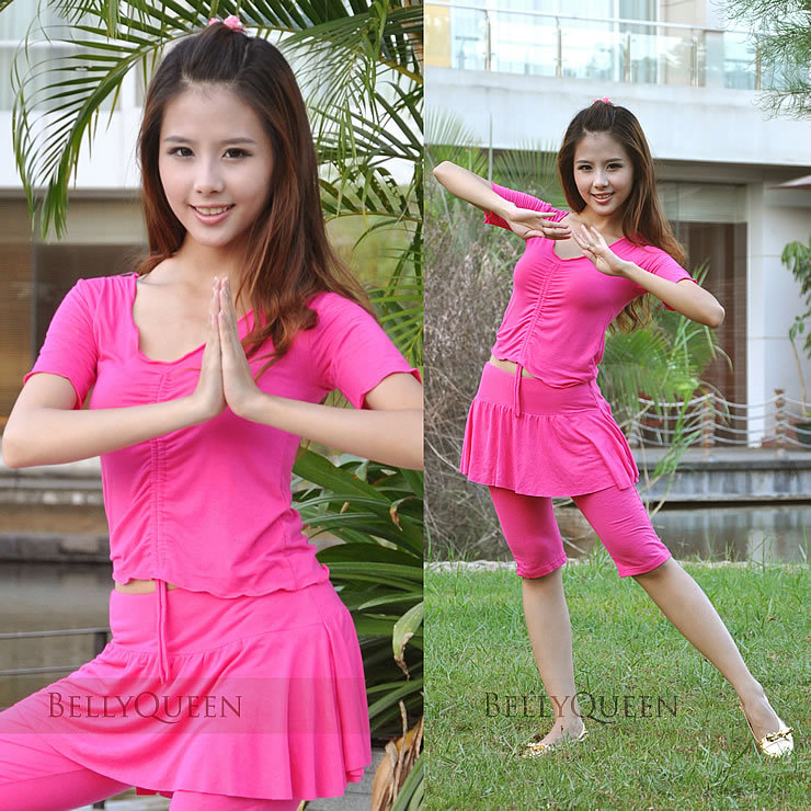 Dancewear Mercerized Cotton Belly Dance Costumes