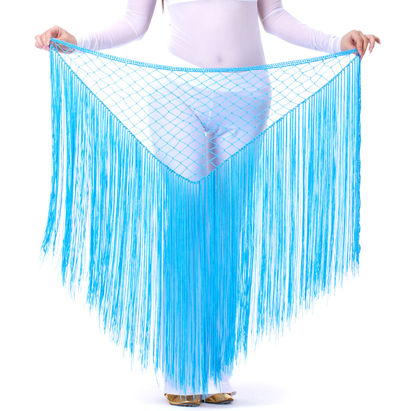 Dancewear Polyester Belly Dance Hip Scarf For Ladies More Color