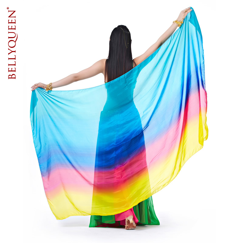 Dancewear Silk Belly Dance Veil For Women 250 cm*110cm
