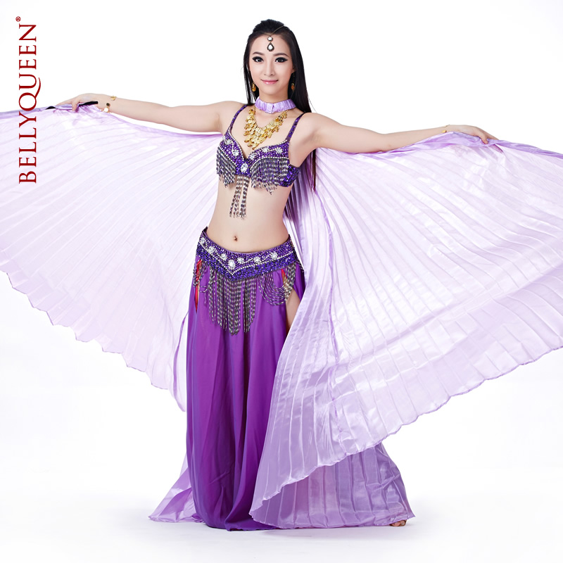 Dancewear Polyester Belly Dance Performance Costumes For Women M