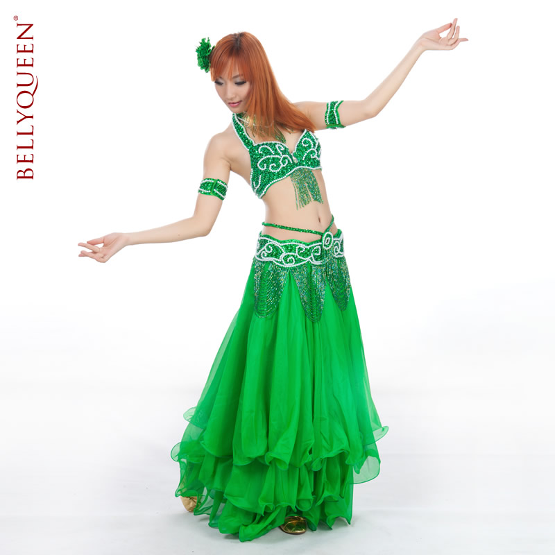 Dancewear Polyester Belly Dancing Costumes For Women 13 Colors