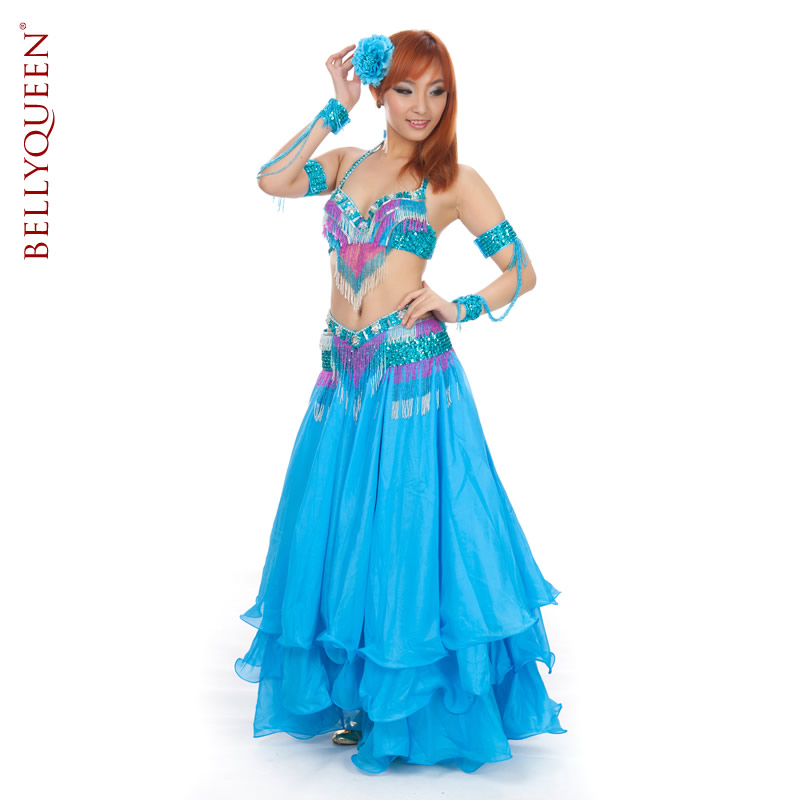 Dancewear Polyester Belly Dancing Costumes For Women More Colors