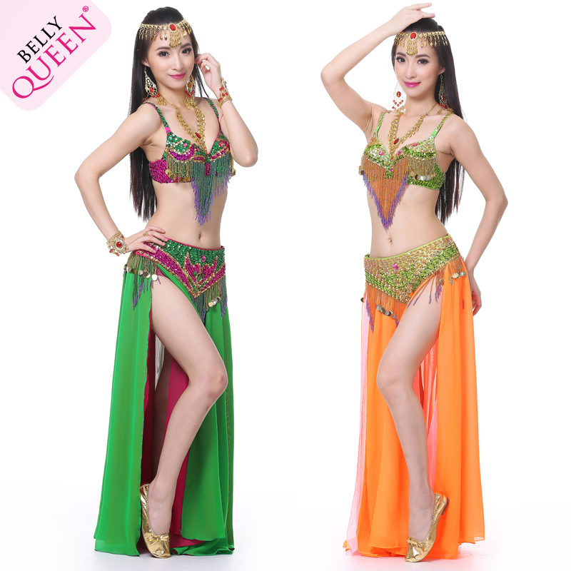 Dancewear Polyester Performance Belly Dance Costumes