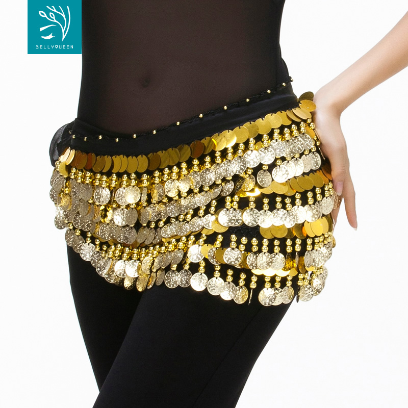 Dancewear Chiffon Belly Dance Hip Scarf for ladies