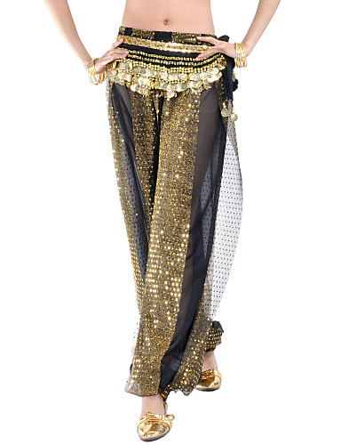 Wholesale Dancewear Polyester Belly Dance Bottom For Ladies